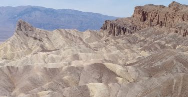 Photograph of Zabrisky point overlooking Death Valley in Death Valley NP