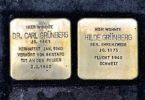 Commemorative plates for Jews in Nazi Germany